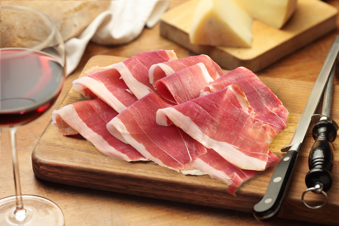 Photo of Il Prosciutto Toscano Dop partner dei grandi vini toscani