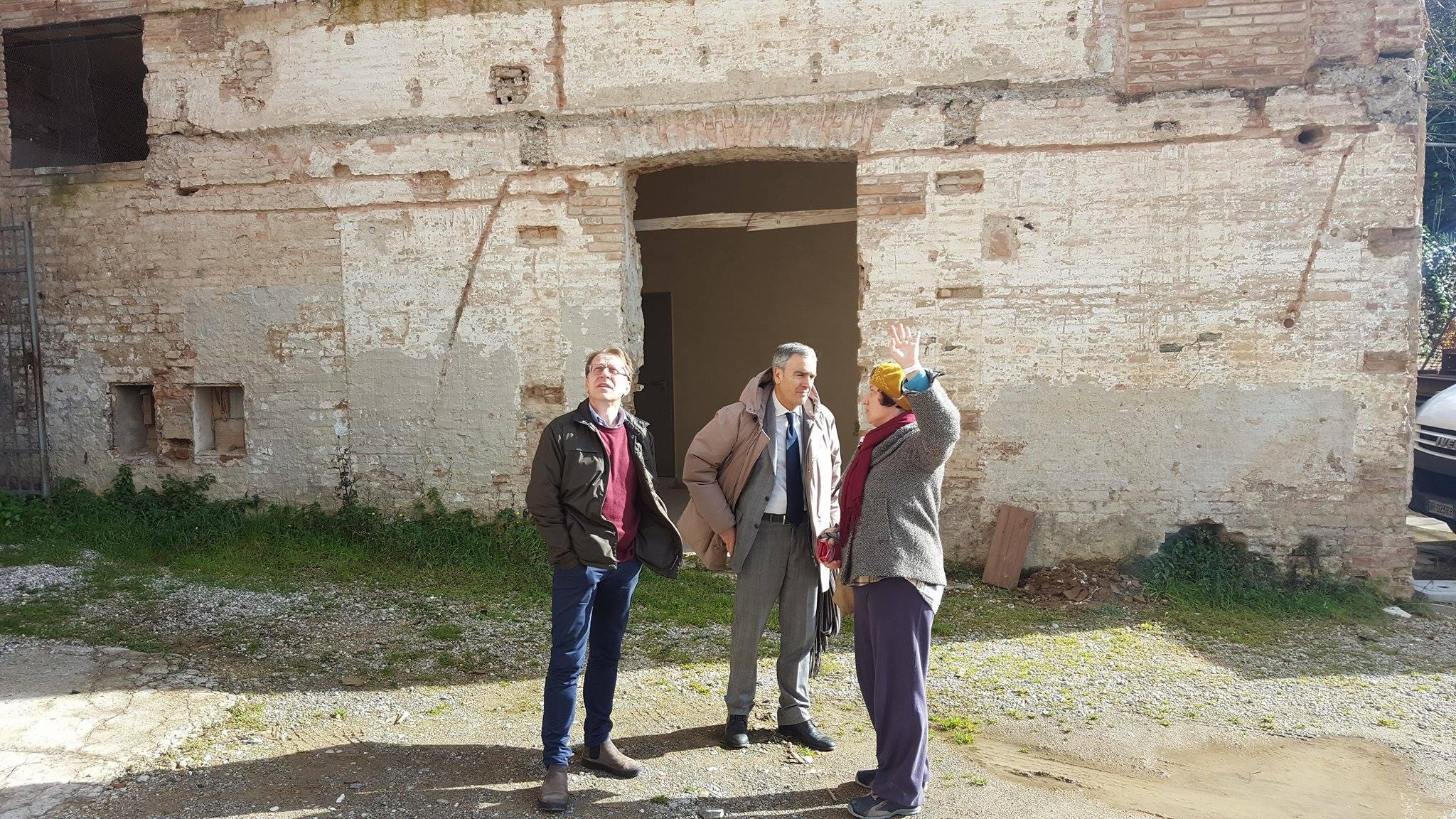 Photo of SIENA – Il Sindaco visita i cantieri aperti del Santa Maria della Scala