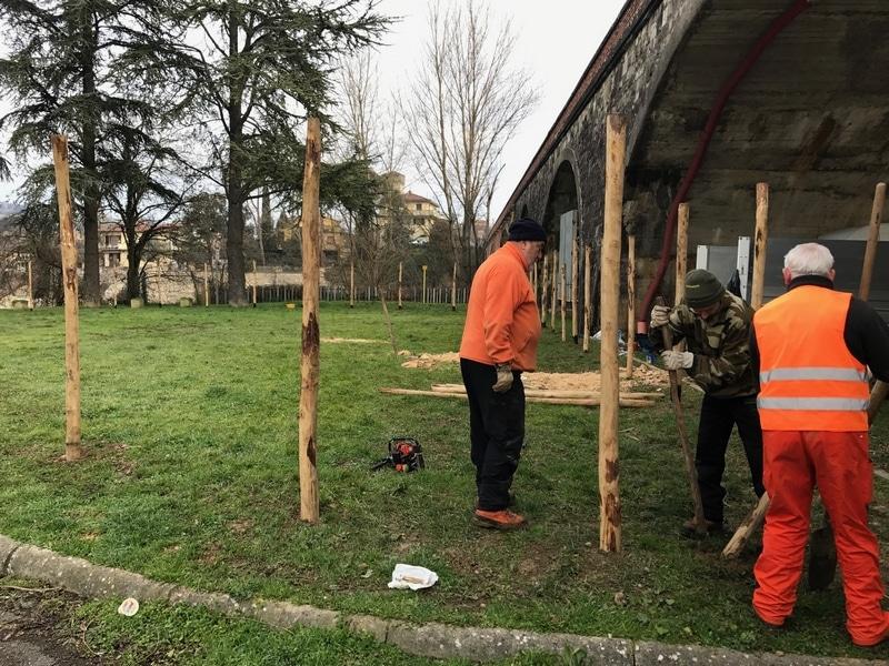 Photo of INCISA (FI) -Iniziati i lavori per le aree cani in Via La Pira
