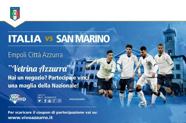 Photo of Italia-San Marino mercoledì alle 21.30 a Empoli