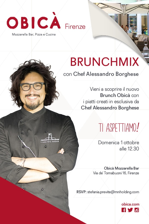 Photo of Brunchmix di Obicà, la domenica che mancava