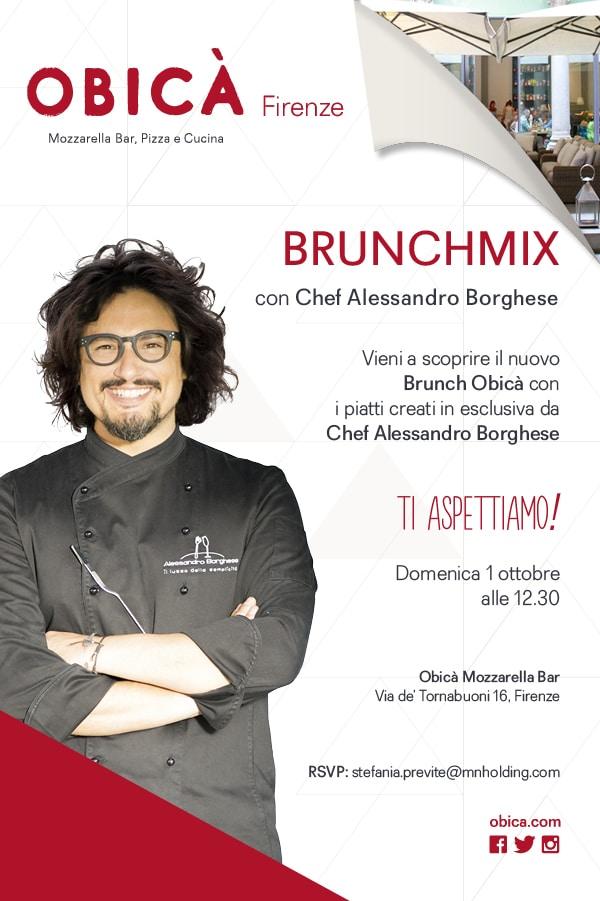 Photo of Brunchmix di Obicà, la domenica che mancava