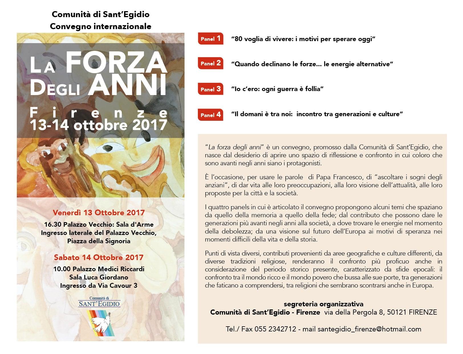 """Photo of """"La forza degli anni"""", da Firenze gli anziani parlano al mondo"""