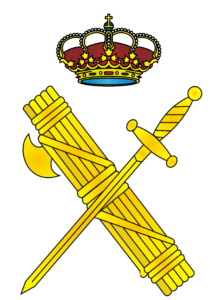 Lo stemma della Guardia Civil