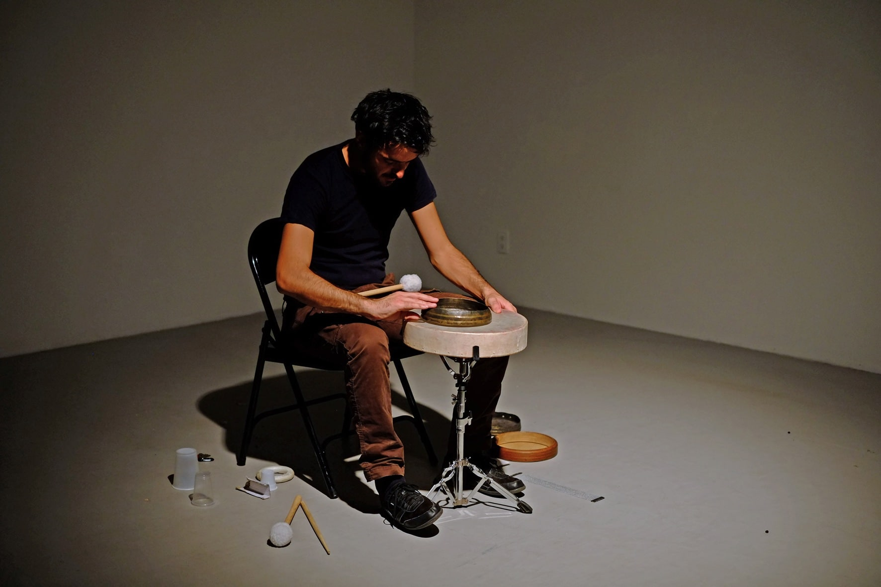 Photo of Enrico Malatesta @ TRK. SOUND CLUB  mercoledì 22 novembre (Galleria Frittelli Arte Contemporanea, Firenze)