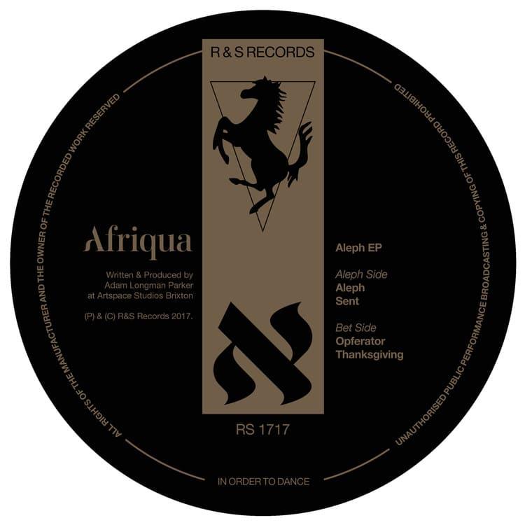 Photo of Afriqua – ALEPH (R&S Records, 2017)
