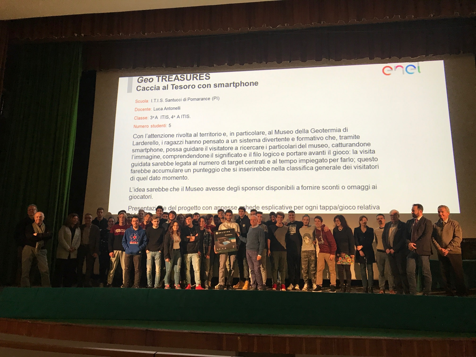 Photo of TOSCANA – A Larderello (PI) premiate le scuole vincitrici del premio 'Play Energy ENEL'