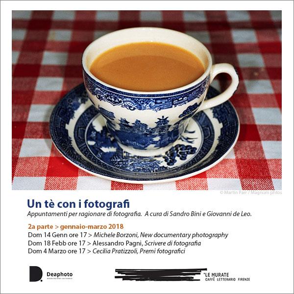 Photo of FIRENZE – Un tè con i fotografi, dal 14 gennaio al Caffè Letterario Le Murate