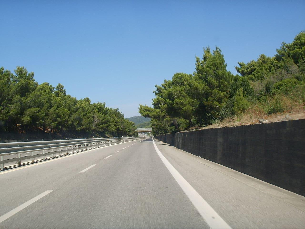 Photo of Proseguono i lavori sulla SS1 Via Aurelia tra Gavorrano e Scarlino a Grosseto