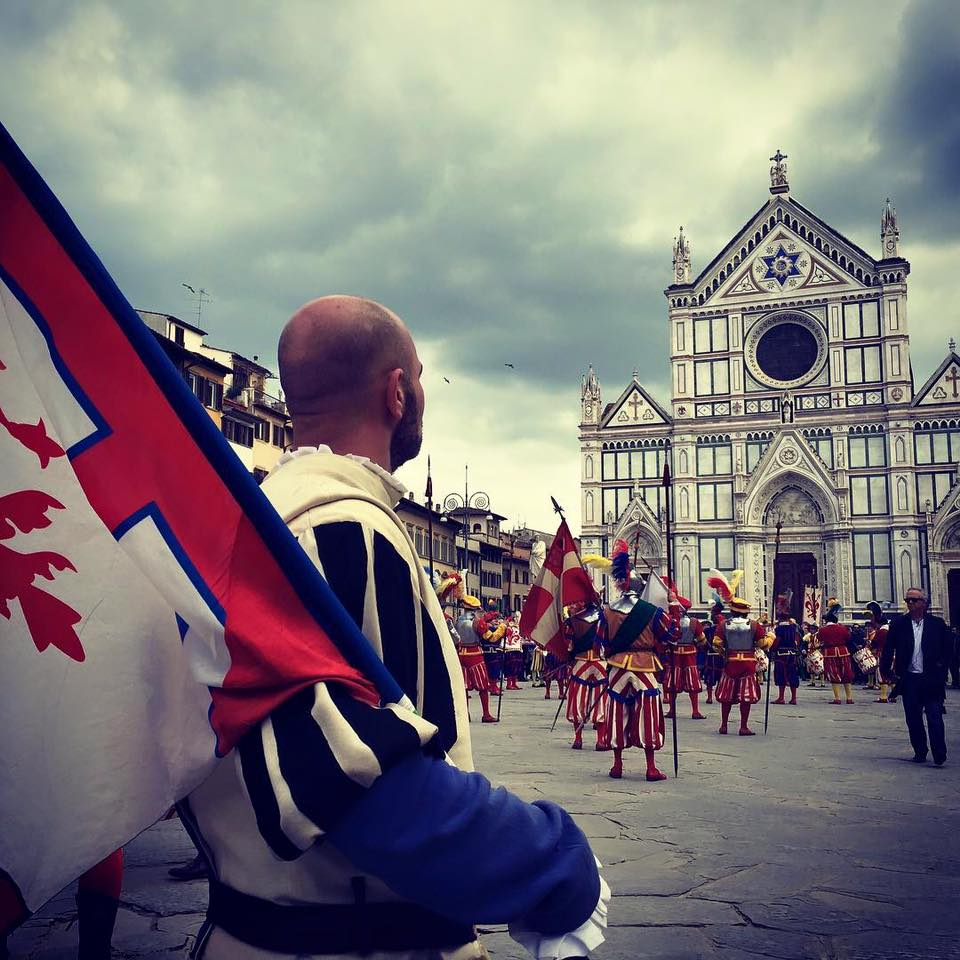 Photo of 45° Anniversario dei Bandierai degli Uffizi di Firenze