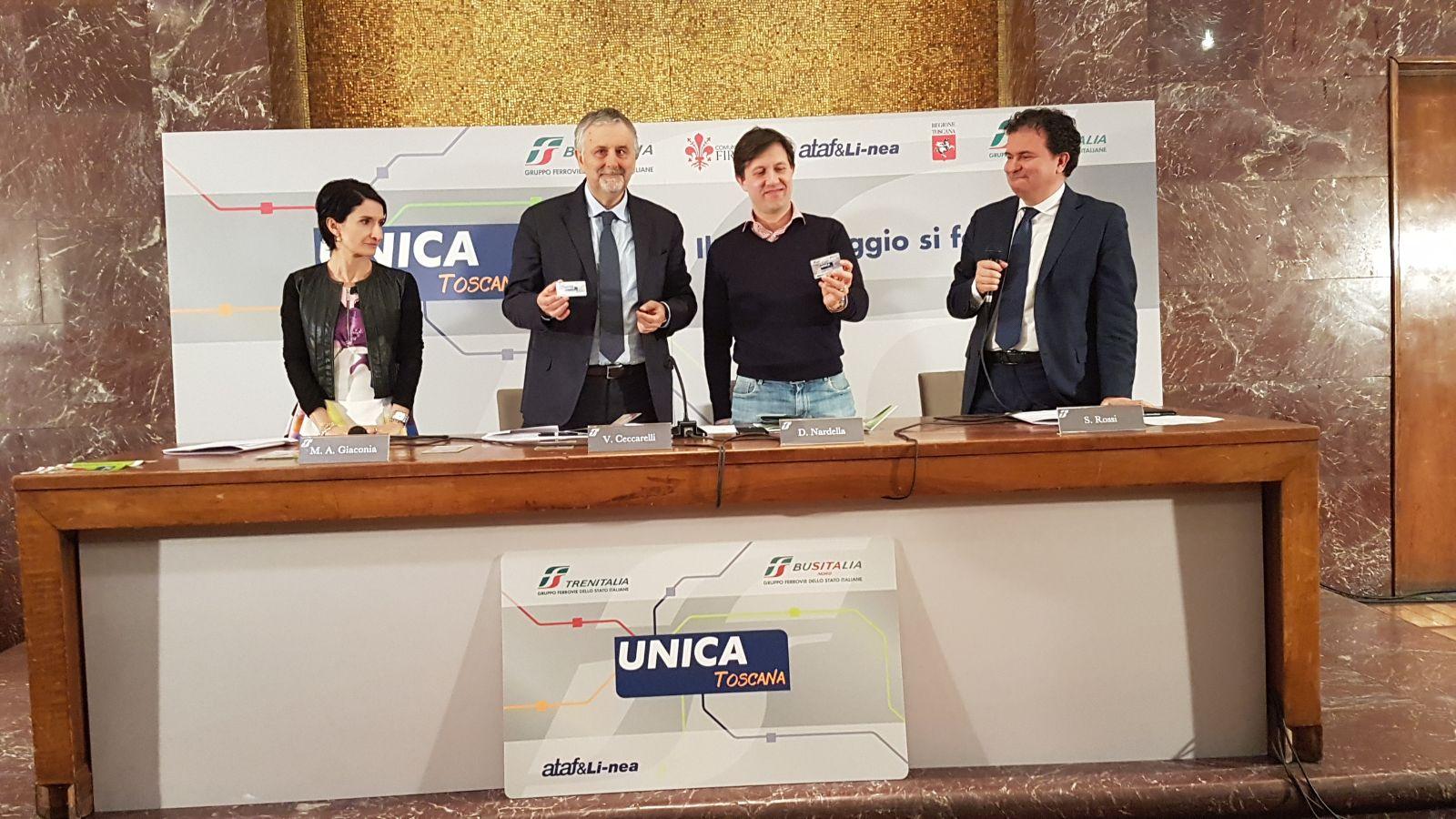 Photo of TRASPORTI – Nasce Carta Unica Toscana, a Firenze la prima sperimentazione
