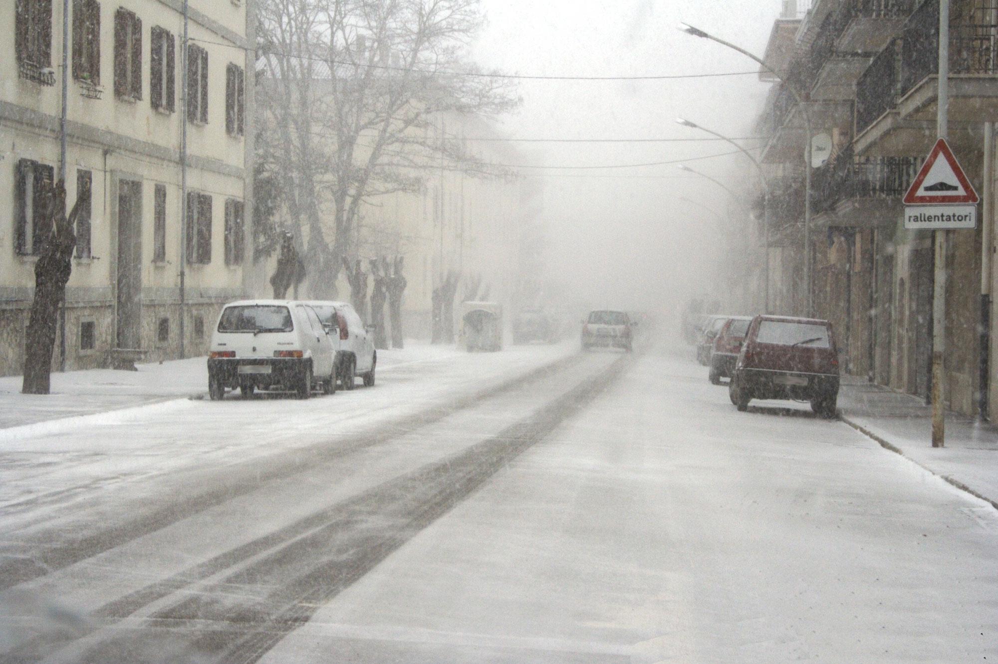 Photo of Maltempo, ancora neve ma situazione sotto controllo in tutta la regione
