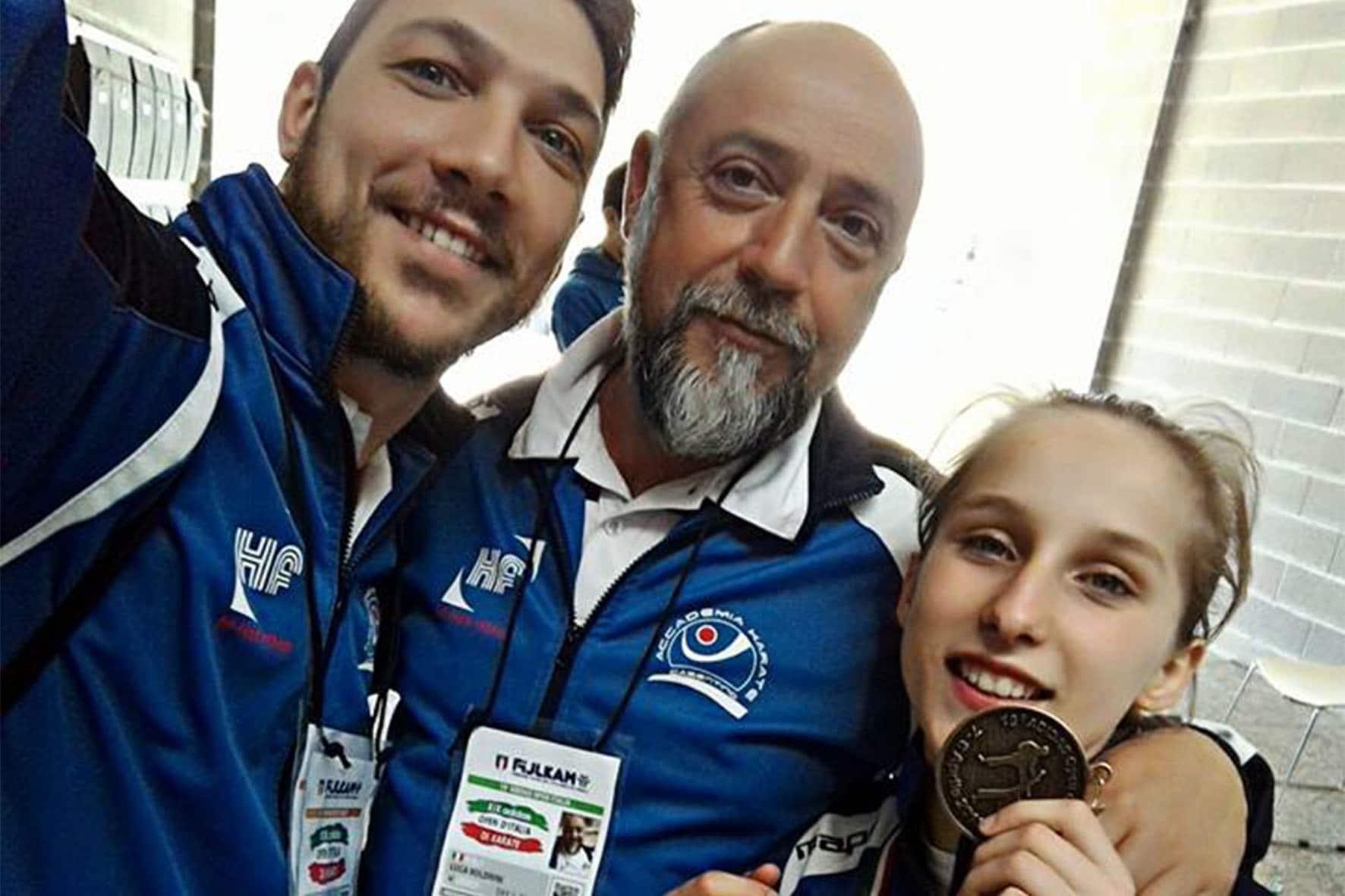 Photo of L'Accademia Karate Casentino conquista un bronzo all'Open d'Italia