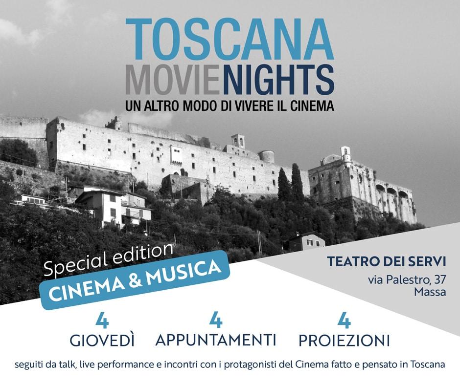 Photo of Toscana Movie Nights – Un altro modo di vivere il cinema, fino al 10 maggio a Massa