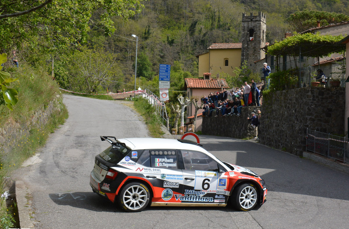 Photo of Iscrizioni aperte al 34° Rally della Valdinievole. Gara il 5 e 6 maggio