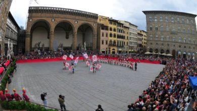 Photo of XXV Trofeo Marzocco, gara di sbandieratori organizzata dai Bandierai degli Uffizi