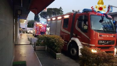 Photo of PISTOIA – Incendio a Pieve a Nievole. A fuoco scooter e biciclette in una rimessa