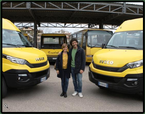 Photo of EMPOLI – In arrivo due scuolabus 'green' alimentati a metano.