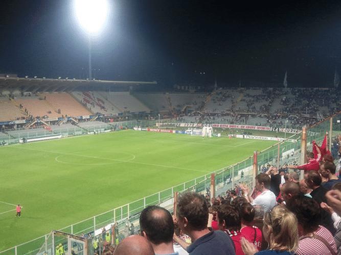 Fiorentina-Napoli, scritta contro i napoletani a Firenze