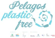 Photo of Legambiente eExpédition MED presentanoPelagos plastic free