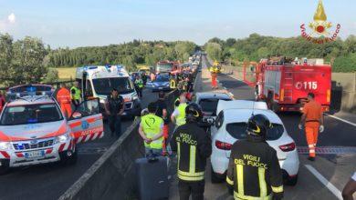 Photo of Incidente sulla FI-PI-LI, intervenuto il Pegaso – FOTO