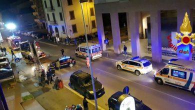 Photo of AREZZO – A fuoco una palazzina. Nove persone in ospedale nella notte