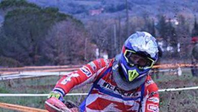 Photo of Fabio Pampaloni trionfatore assoluto nel regionale enduro di Arezzo