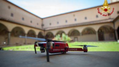 Photo of Droni per monitorare le chiese fiorentine, i Vigili del Fuoco hanno realizzato l'operazione – VIDEO