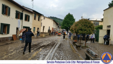 Photo of Alluvione in Chianti, esonda il Rubbiana a San Polo – FOTOGALLERY