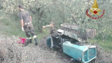 Photo of PISA – Muore 93enne per ribaltamento sul trattore