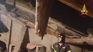 Photo of PISA – Crolla tetto di un abitazione del centro storico di Capanne (Montopoli)