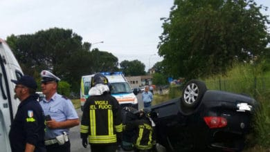 Photo of Incidente stradale sulla SP310 in località Porrena di Poppi, due feriti