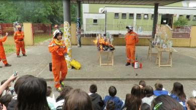 Photo of Alunni di elementari e medie a lezione di cura del bosco e prevenzione degli incendi