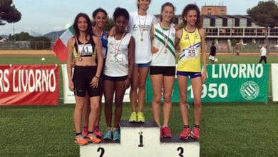 Photo of Due medaglie tricolori per le ragazze dell'atletica aretina