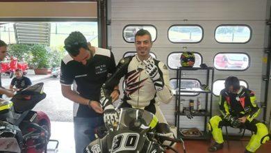 Photo of Stefano Mango si prepara con Alex De Angelis per la Di.Di. Bridgestone Cup