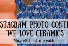 Photo of We Love Ceramics, contest fotografico di Instagram