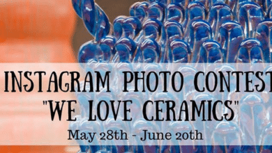 Photo of We Love Ceramics, contest fotografico di Instagram