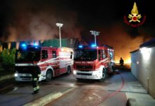 Photo of LIVORNO – A fuoco oleificio a Cecina, Vigili del Fuoco ancora in azione