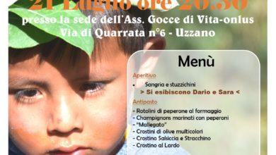 Photo of UZZANO – Torna la Cena sotto le Stelle di Gocce di Vita-onlus