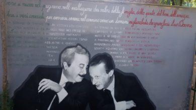 Photo of FIRENZE – Inaugurato un murale con Paolo Borsellino e Giovanni Falcone in occasione della ricorrenza degli attentati di mafia