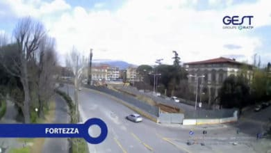Photo of Tramvia di Firenze, in volo con sopra la nuova linea T1 con un drone