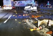Photo of Grave incidente sull'A1 all'altezza del casello Valdichiana, 5 feriti, due in codice rosso