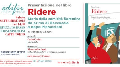 Photo of Matteo Cecchi a Firenze libro aperto