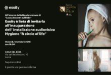 """Photo of Hygiene """"A Circle of Life"""", inaugurazione installazione audiovisiva a Lucca"""