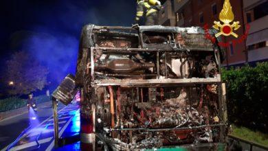 Photo of FIRENZE – A fuoco autobus ATAF a Sesto Fiorentino