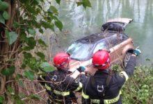 Photo of FIRENZE – Volo di 40 metri nel fiume Sieve con l'auto, uomo salvato dai Vigili del Fuoco