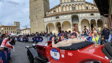 Photo of La 1000 Miglia fa tappa a Pistoia