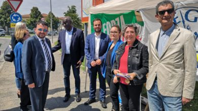 Photo of FIRENZE – Il Senatore Iwobi a Vinci per sostenere l'amico candidato Scipioni