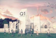 Rendering Q1 Arena INGRESSO