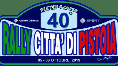 Photo of PISTOIA – 40° Rally Città di Pistoia il 5 e 6 ottobre, programma e percorso